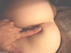 Sleeping ex girlfriend fingered
