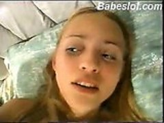 18yo blonde girl hard anal fucked