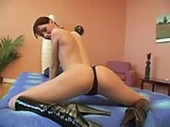 Lesbian Strapon Gang Bang with Sweet Amylee Part 1