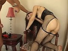 Sasha Grey sex slave