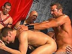 Leather Daddies Gang Banging Brad Benton 04