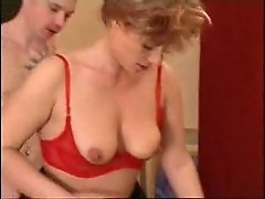 horny Mom waits her son