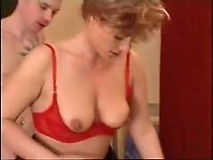 horny Mom waits her son