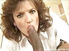 Mature sexy milf wife interracial blowjobs