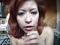 Busty milf gets a huge cock for titfucking and bj