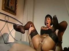 Italian Girl Fucks Stranger In Her Room