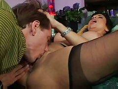 Horny whore craves big dick