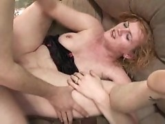 Chastity gives BJ and gets fucked - free sex video