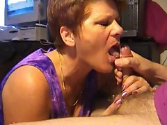 Hot mature gets a big finish