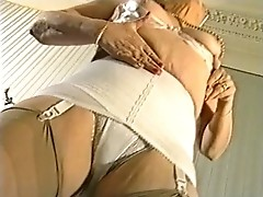 Granny in her Girdle and fully fashioned Nylons