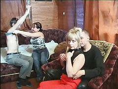 young and old swinger couples fuck together # -by Sabinchen