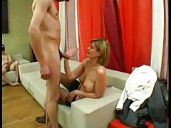 Blowjob and hardcore party for mature slut