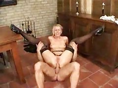 Anal sex with mature whore