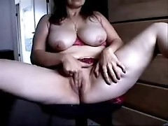 Happy older women real home made video