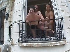 Gangbang for Sylvie a French mature