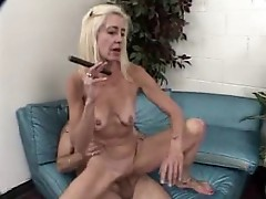 Old Cigar Smoking Man Fucks Mature Woman (3-3)