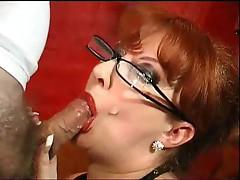 Red UK Pornstar BJ