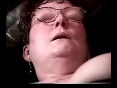 Granny Cum on Glasses