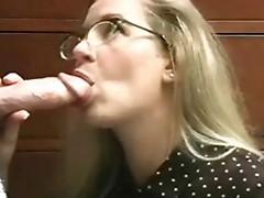 Oral cumshot