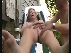 Watch horny grandma great orgasm