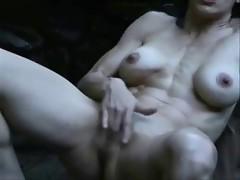 Watch mature slut masturbating and squirting