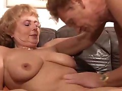 German Mature Fucked on the Couch by snahbrandy