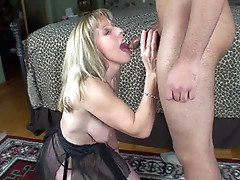 Hotwife Carol takes a young dick in her ass