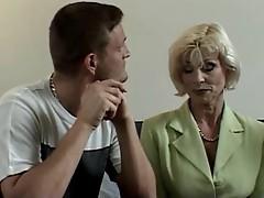 Eva  Delage fucked by Reporter