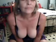 I love my mum. Found video of her having fun at PC