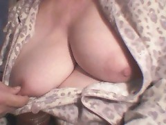 Tits Coming Out of PJs