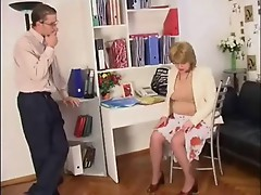 Office Milf Pantyhose Fingering