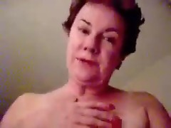 Granny with huge tits fucked hard