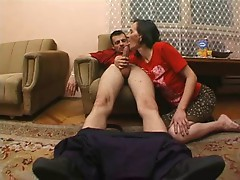 Hairy mature housewife and the repairman 1