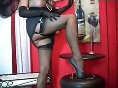 Mature stockings high heel fetish