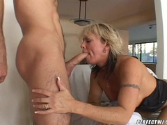 MILF Enjoys a Dick in the Stink
