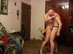 Mature, Mom, Milf, Housewife mom sucks and fucks her son
