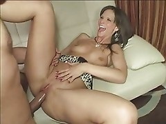 Enticing MILF Syren Demer gets a long rod buried in her tasty snatch