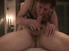 Ballbusting Mature Girlfriend