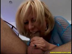Sexy and Wild Granny Slut Taking Hot Dick in Her Wet Pussy
