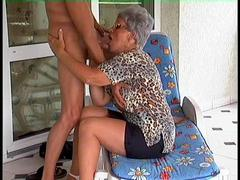 Dirty Blonde Mommy Marylin gets Slit Fucked from Behind