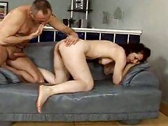 Mature whore asshole and hairy pussy fucking