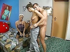 Dirty Mature and her Daughter