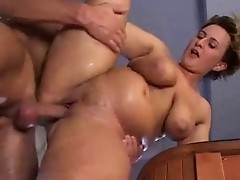 Naughty fellow fucks one of the hottest busty matures during hardcore sex