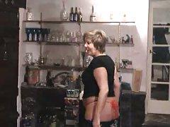 Matures homemade strip and masturbation
