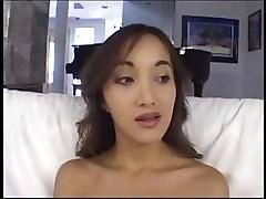 Katsuni sucks that cock down her throat and fucks black man