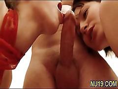 Sex appeal hot chick kneels