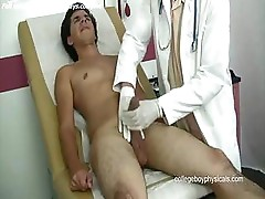 Medical man jackoff cock