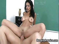 Persia Pele gives her student a lesson on how to fuck pussy