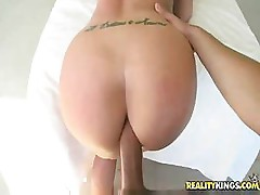 Kelly Divine has a great ass and sucks deep and gets fucked