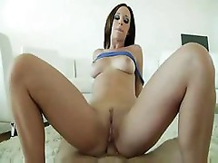 Jada Stevens is sucking a dick so she can get it in the ass